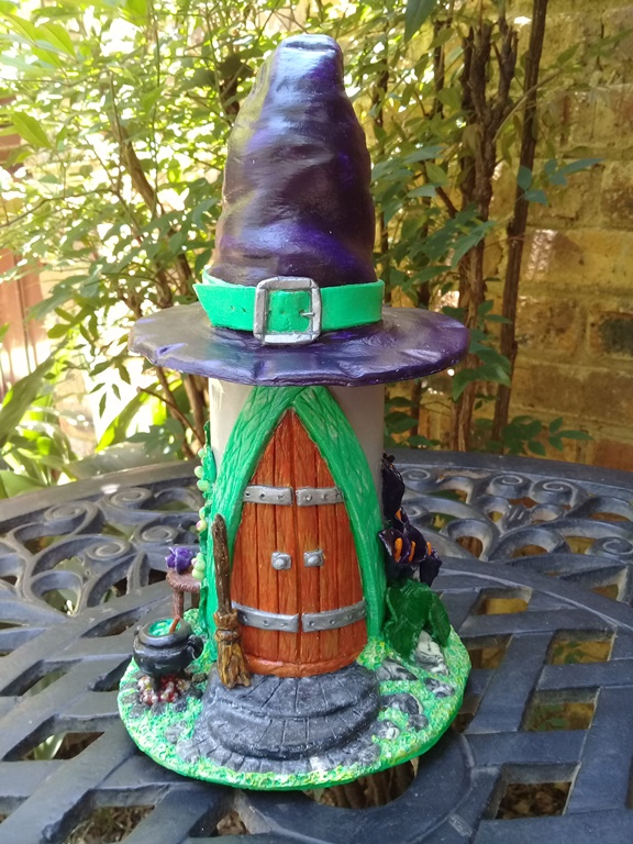 'Modern Witch House' Night Light