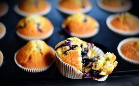 Blueberry muffins. Picture courtesy congerdesign from Pixabay