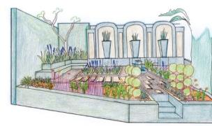 A plan helps you visualise your garden